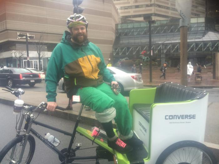 Boston Pedicab still a tradition for the prestigious Boston Marathon!