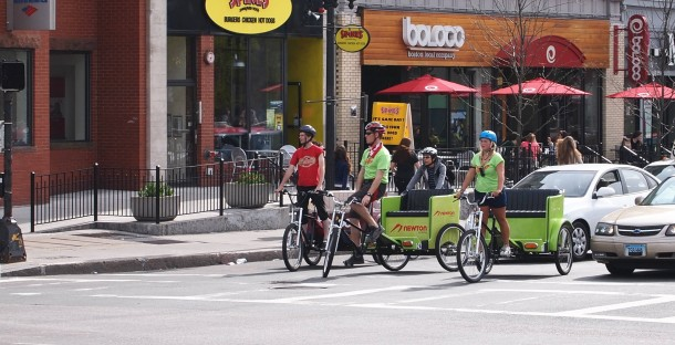 Huntington News: Boston Pedicab celebrates its 10th anniversary