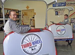 Pedicab company launching service in Redwood City, San Carlos