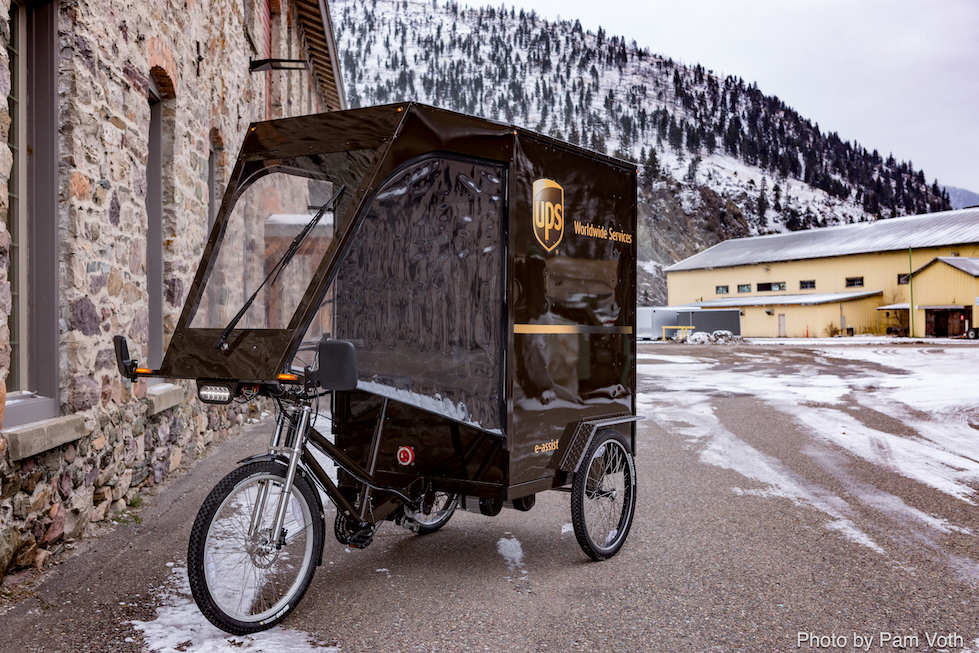 UPS Testing Customer Coaster Bikes for Deliveries in Toronto