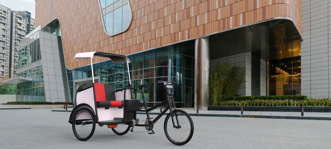 Luxe Pedicab