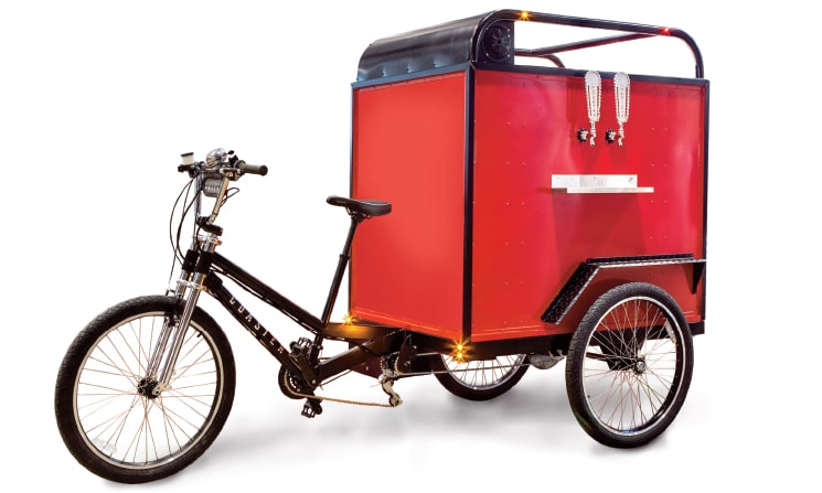 Get Started With Your Own Mobile Vendor Service on a Bicycle