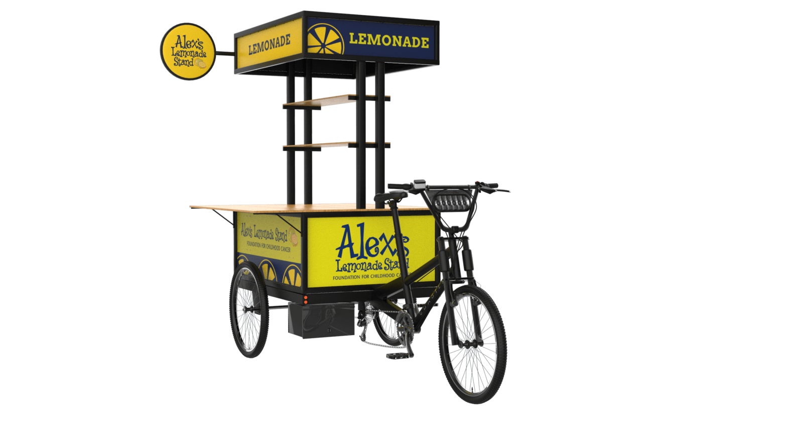Coaster Cycles Partners with Alex's Lemonade Stand Foundation