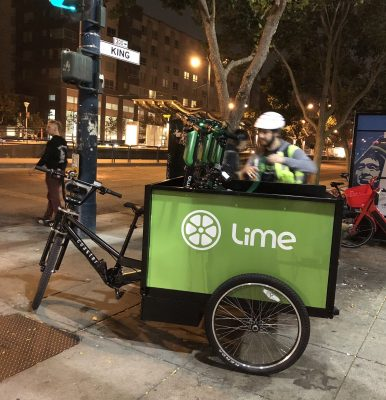 Uber, Lime and Spin scooters are now legal in SF