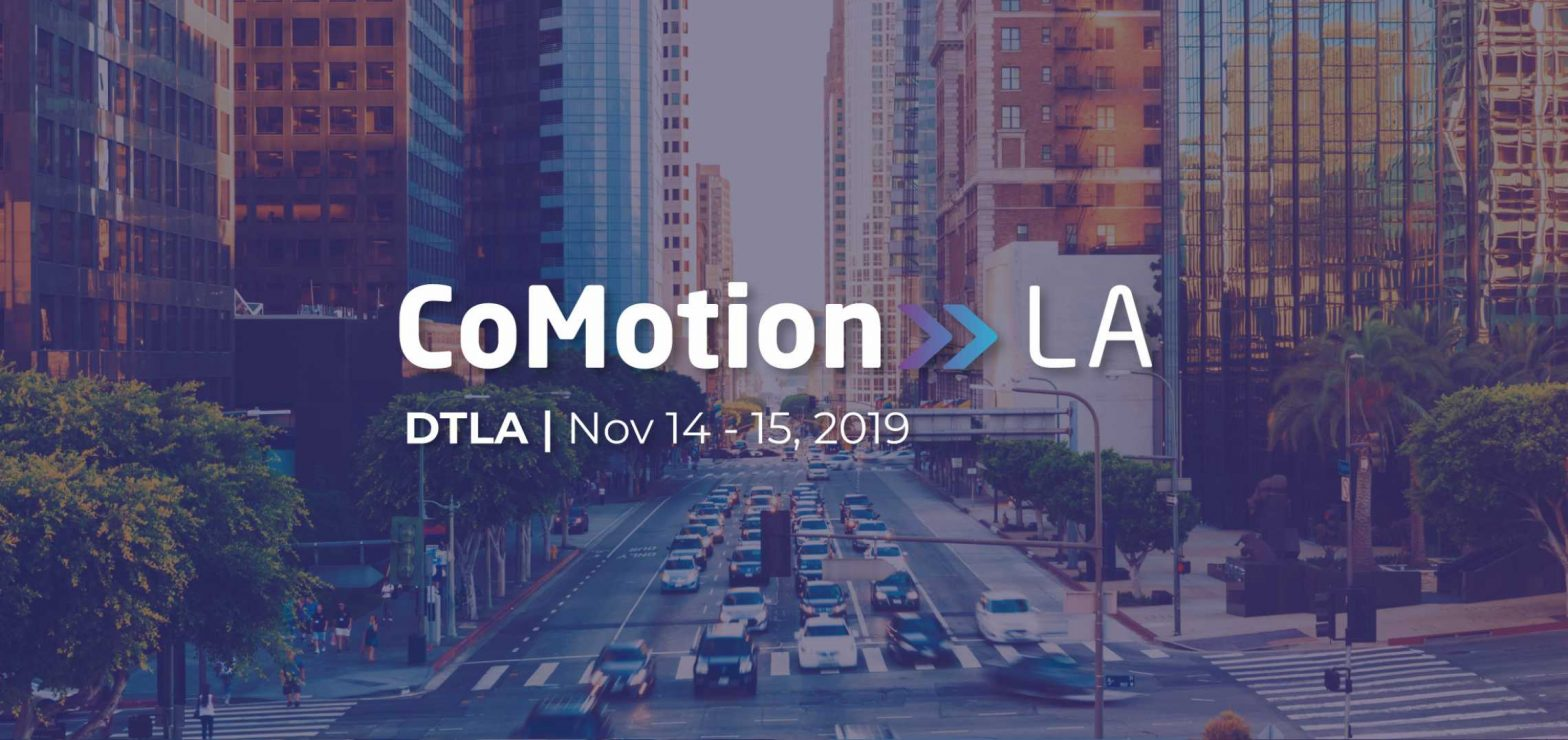 Final Schedule Announced for CoMotion LA