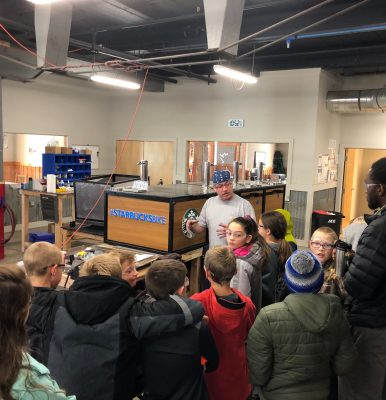 Future Looks Bright – Bonner Elementary 5th Graders Visit Coaster Manufacturing Facility