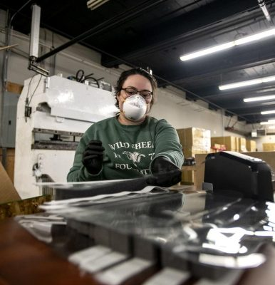A new face: Montana cycle company turns to safety shields